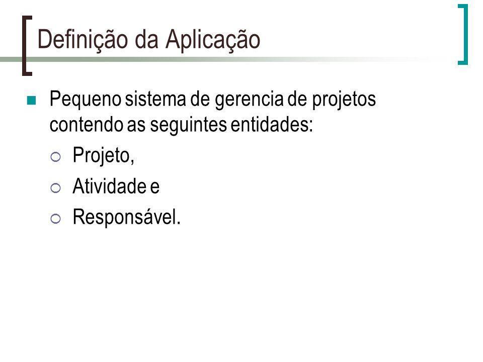Definição da Aplicação