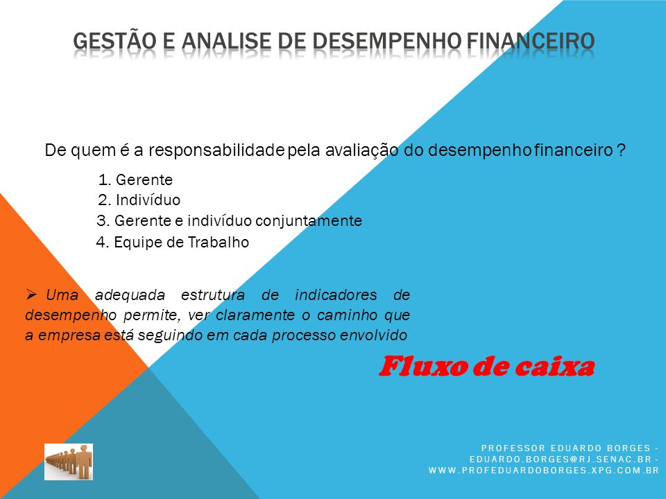 Fluxo de caixa Gestão e analise de desempenho FINANCEIRO