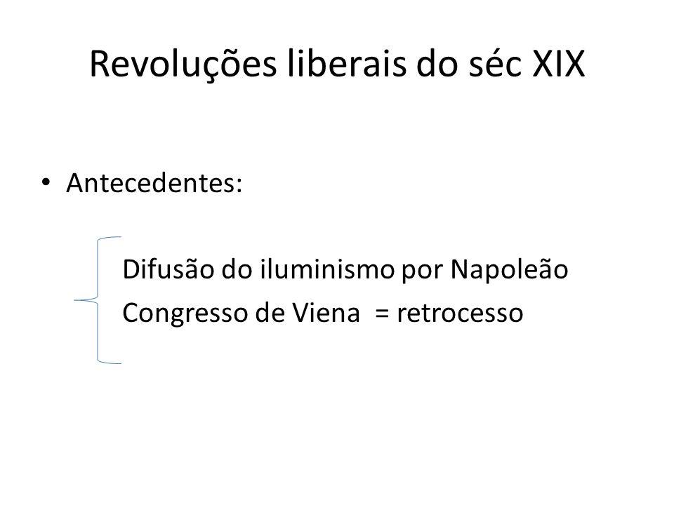 Revoluções liberais do séc XIX