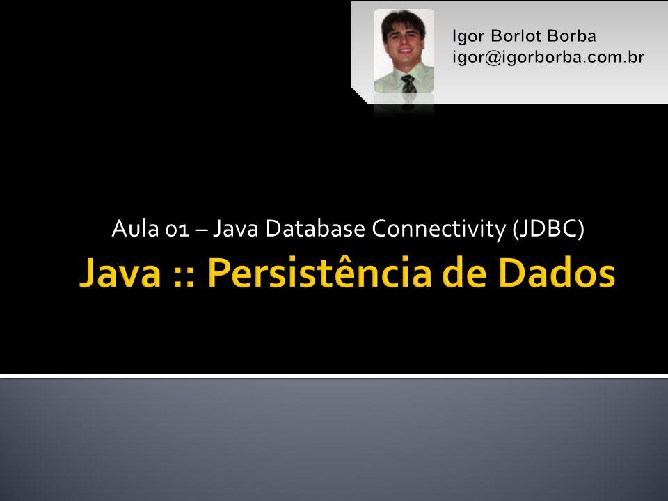 Java :: Persistência de Dados