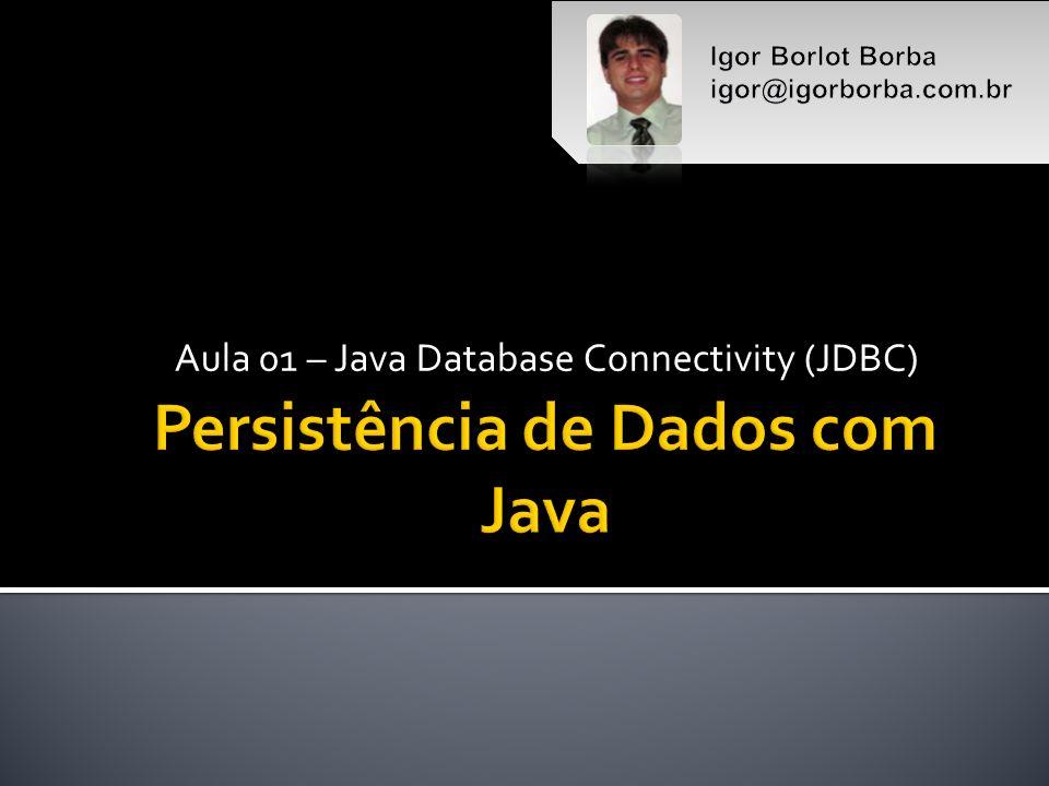 Persistência de Dados com Java
