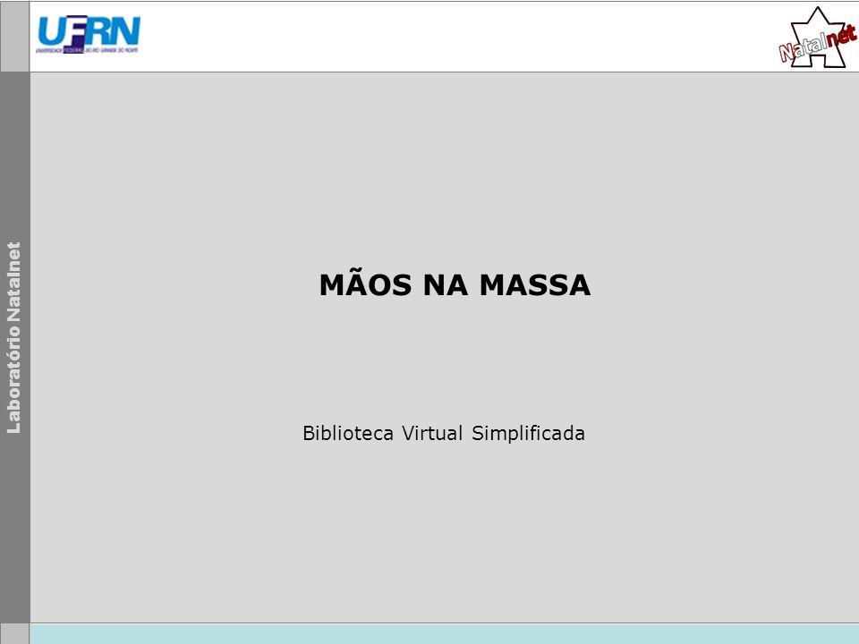 Biblioteca Virtual Simplificada