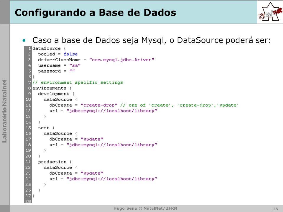 Configurando a Base de Dados