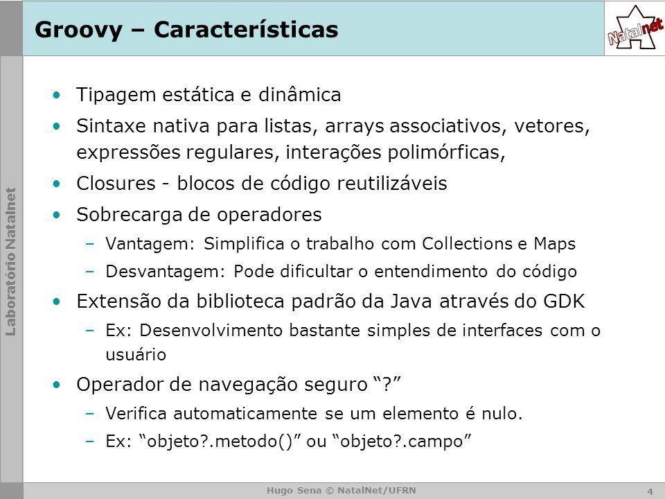 Groovy – Características