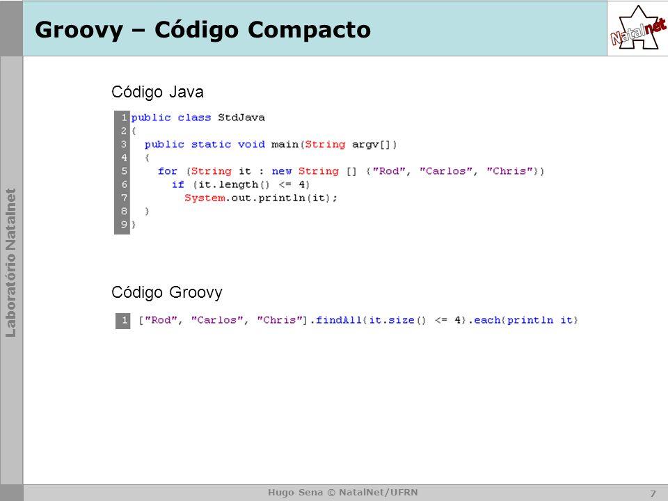 Groovy – Código Compacto