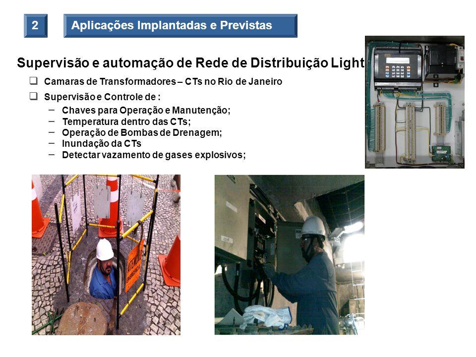 Supervisão e automação de Rede de Distribuição Light