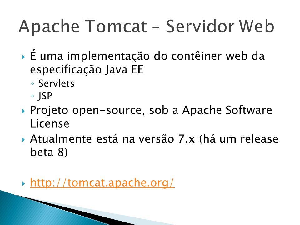 Apache Tomcat – Servidor Web