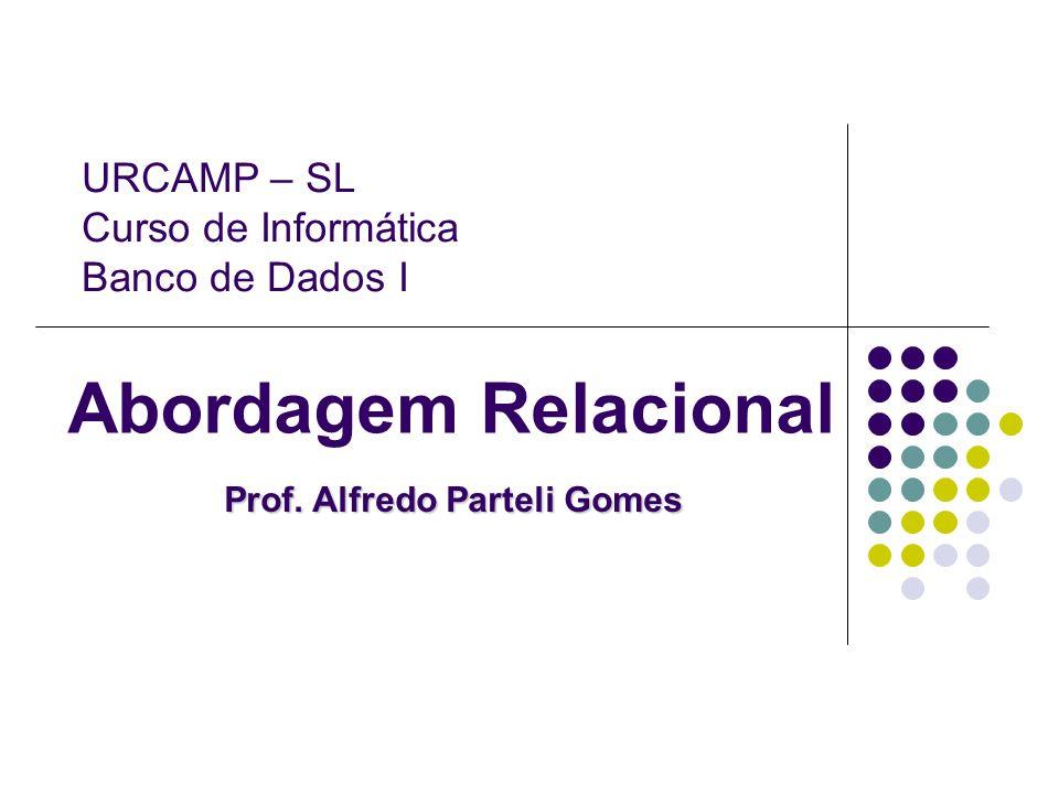 Prof. Alfredo Parteli Gomes