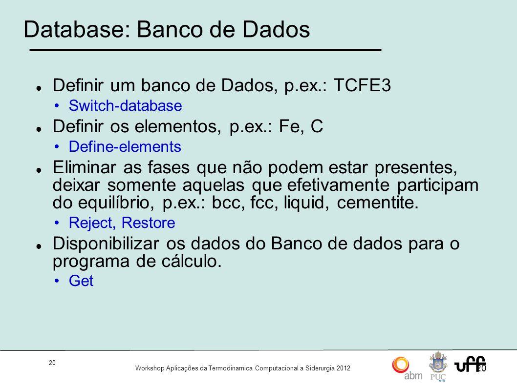Database: Banco de Dados