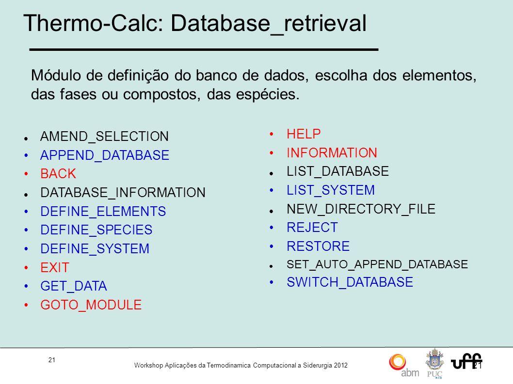 Thermo-Calc: Database_retrieval