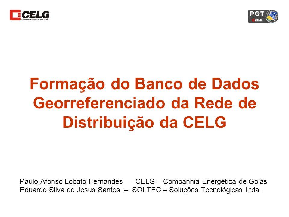 Formação do Banco de Dados Georreferenciado da Rede de Distribuição da CELG