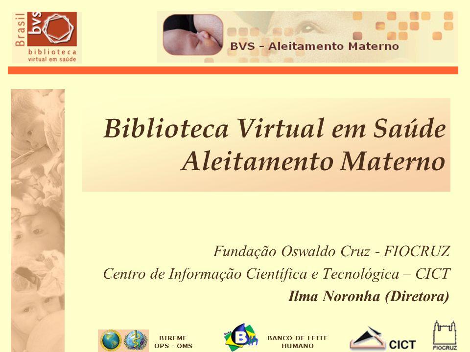 Biblioteca Virtual em Saúde Aleitamento Materno