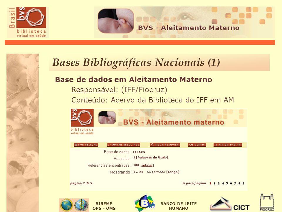 Bases Bibliográficas Nacionais (1)