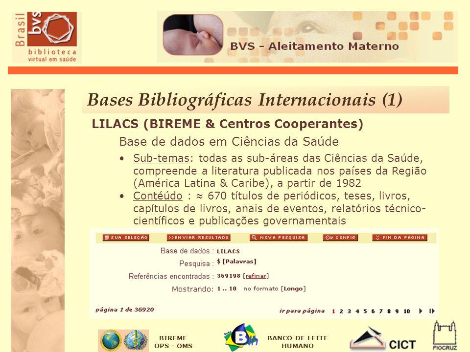Bases Bibliográficas Internacionais (1)