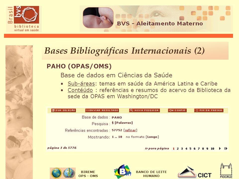 Bases Bibliográficas Internacionais (2)