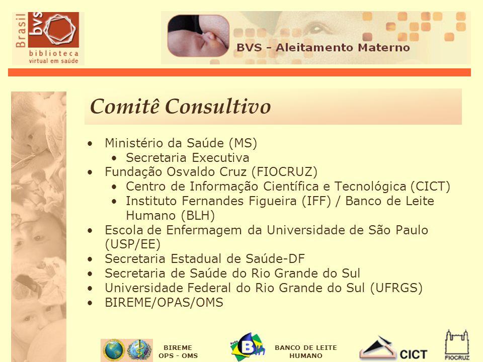 Comitê Consultivo Ministério da Saúde (MS) Secretaria Executiva