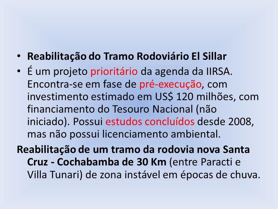 Reabilitação do Tramo Rodoviário El Sillar