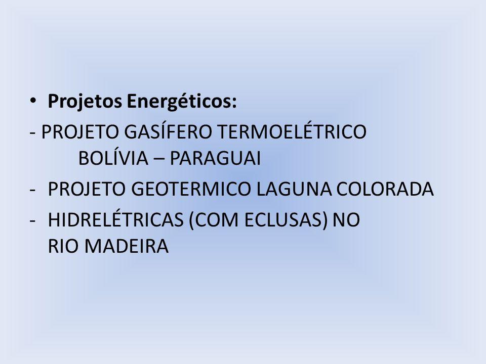 Projetos Energéticos: