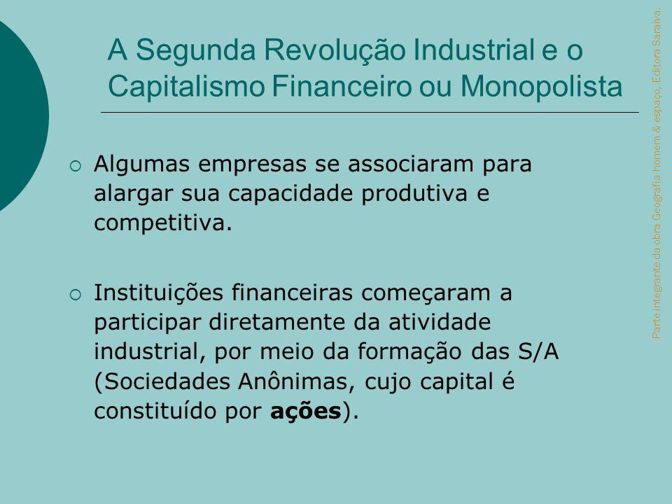 A Segunda Revolução Industrial e o Capitalismo Financeiro ou Monopolista