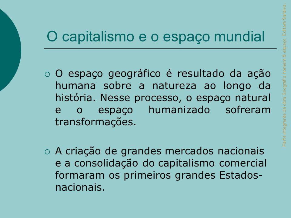 O capitalismo e o espaço mundial