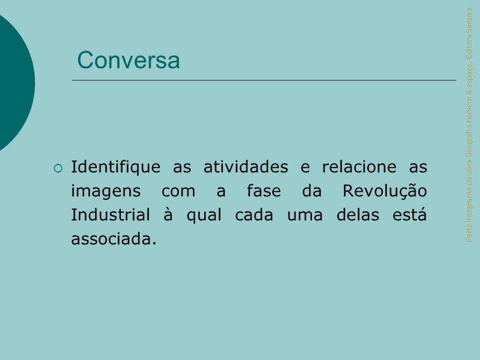 Conversa Parte integrante da obra Geografia homem & espaço, Editora Saraiva.