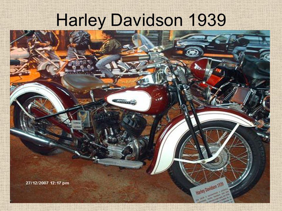 Harley Davidson 1939