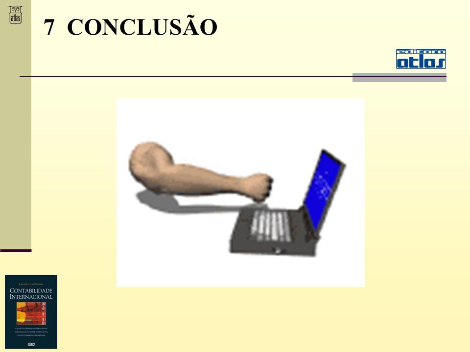 7 CONCLUSÃO