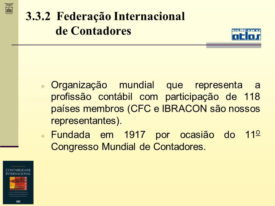 3.3.2 Federação Internacional de Contadores