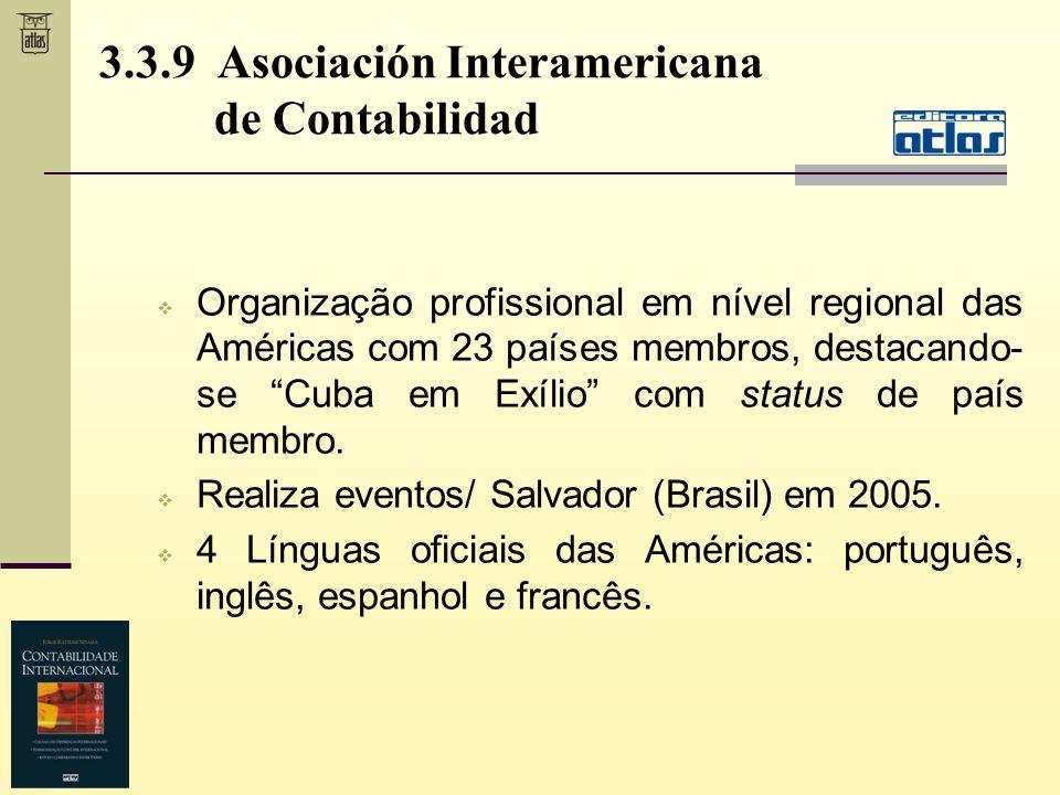 3.3.9 Asociación Interamericana de Contabilidad