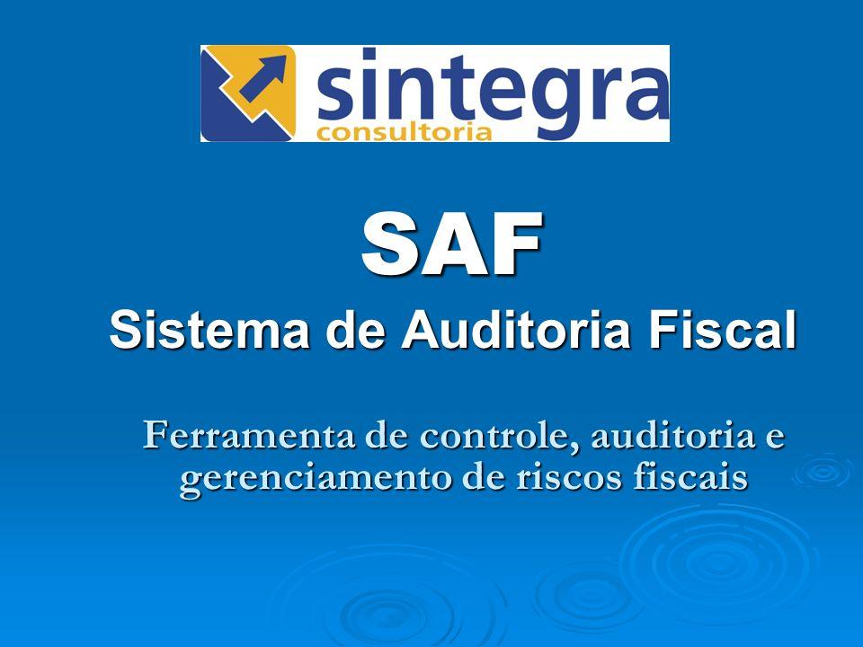 SAF Sistema de Auditoria Fiscal