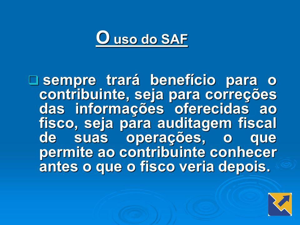 O uso do SAF