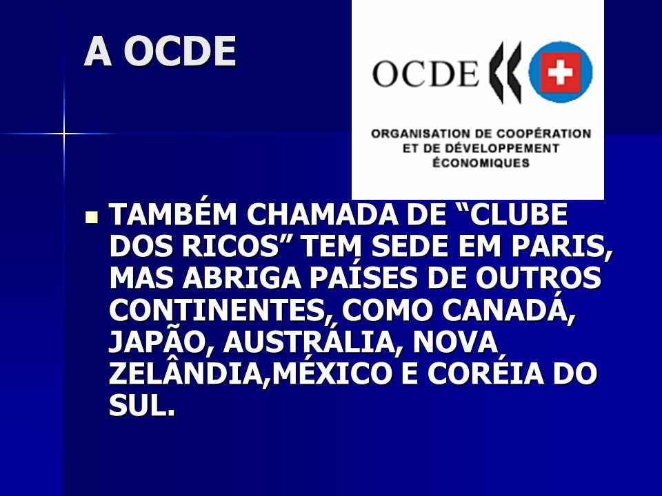A OCDE