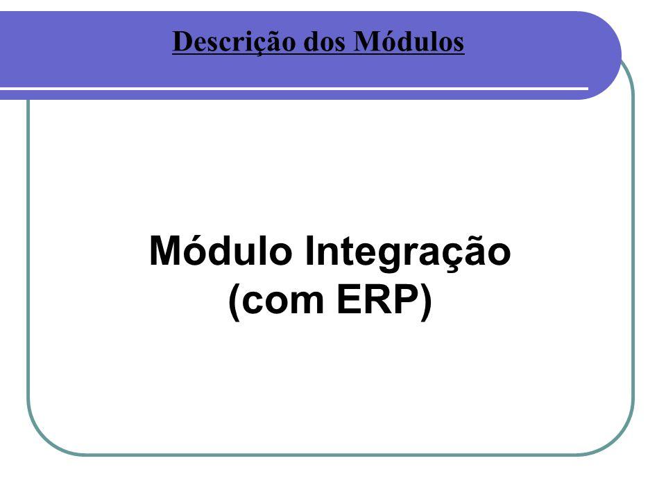 Módulo Integração (com ERP)