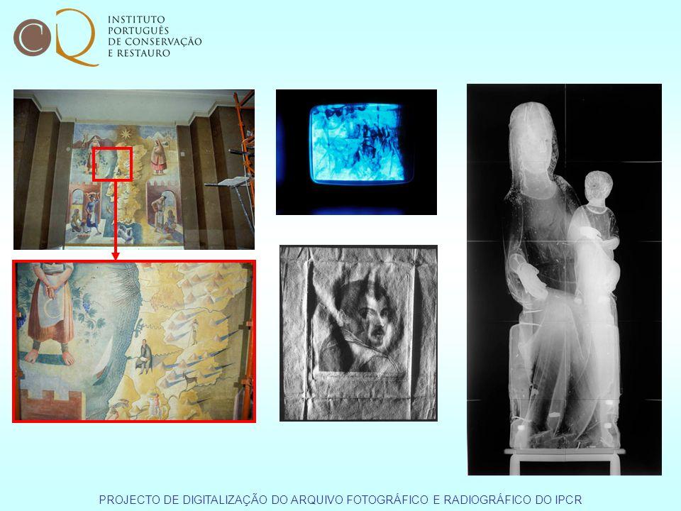 PROJECTO DE DIGITALIZAÇÃO DO ARQUIVO FOTOGRÁFICO E RADIOGRÁFICO DO IPCR