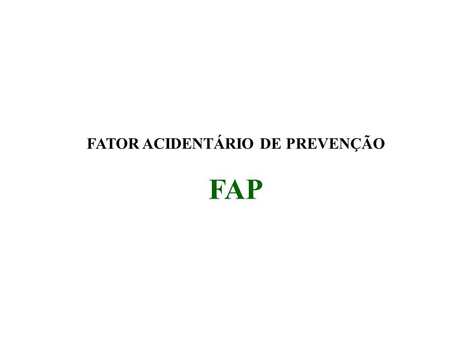 FATOR ACIDENTÁRIO DE PREVENÇÃO