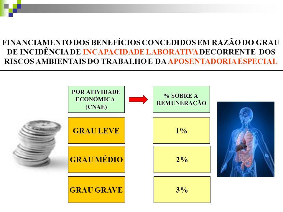 GRAU LEVE 1% GRAU MÉDIO 2% GRAU GRAVE 3%
