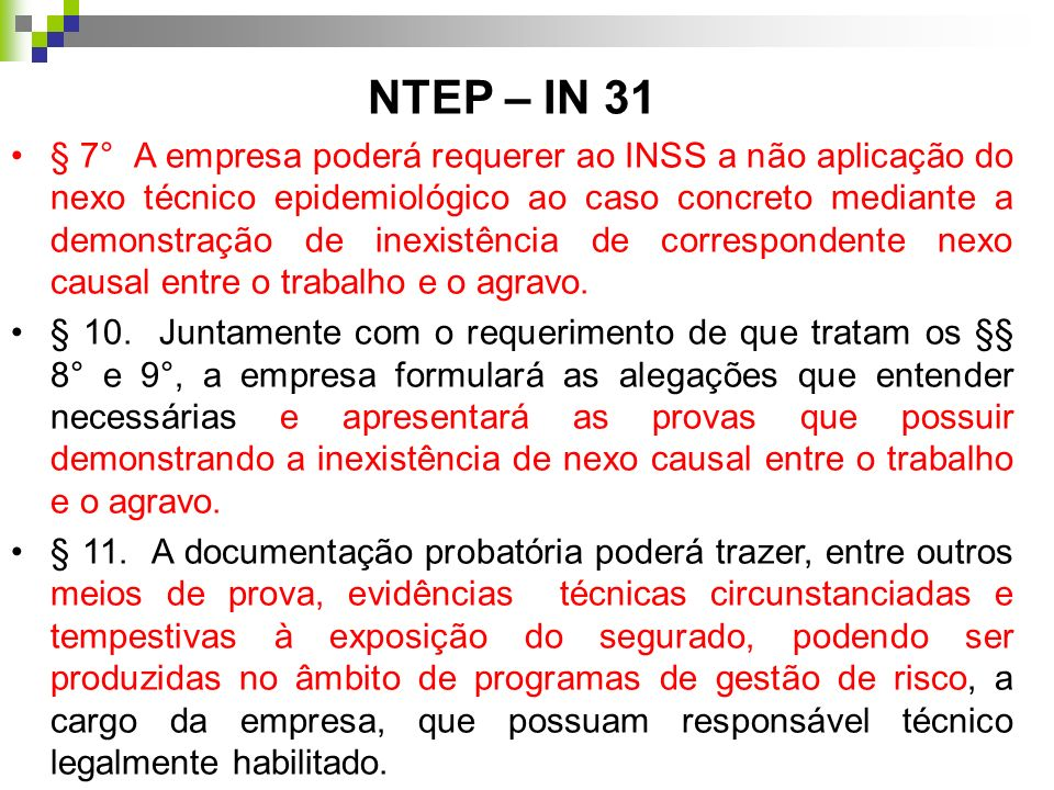 NTEP – IN 31