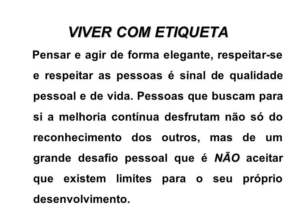 VIVER COM ETIQUETA
