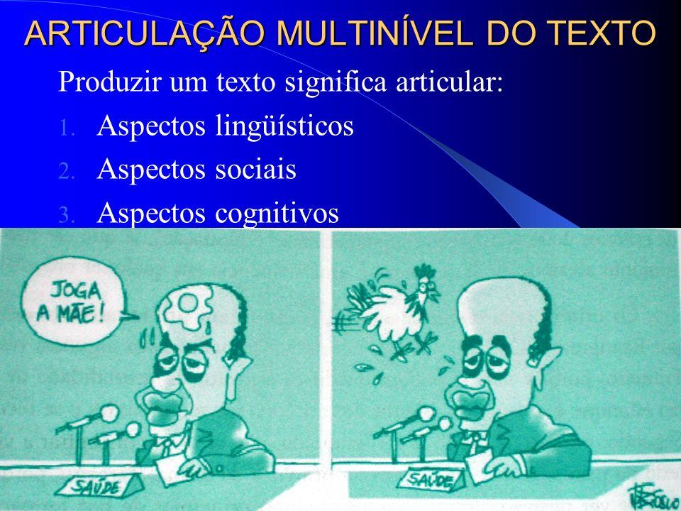 ARTICULAÇÃO MULTINÍVEL DO TEXTO