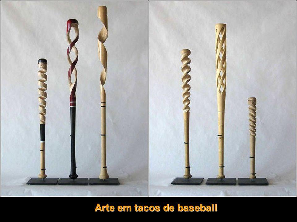 Arte em tacos de baseball