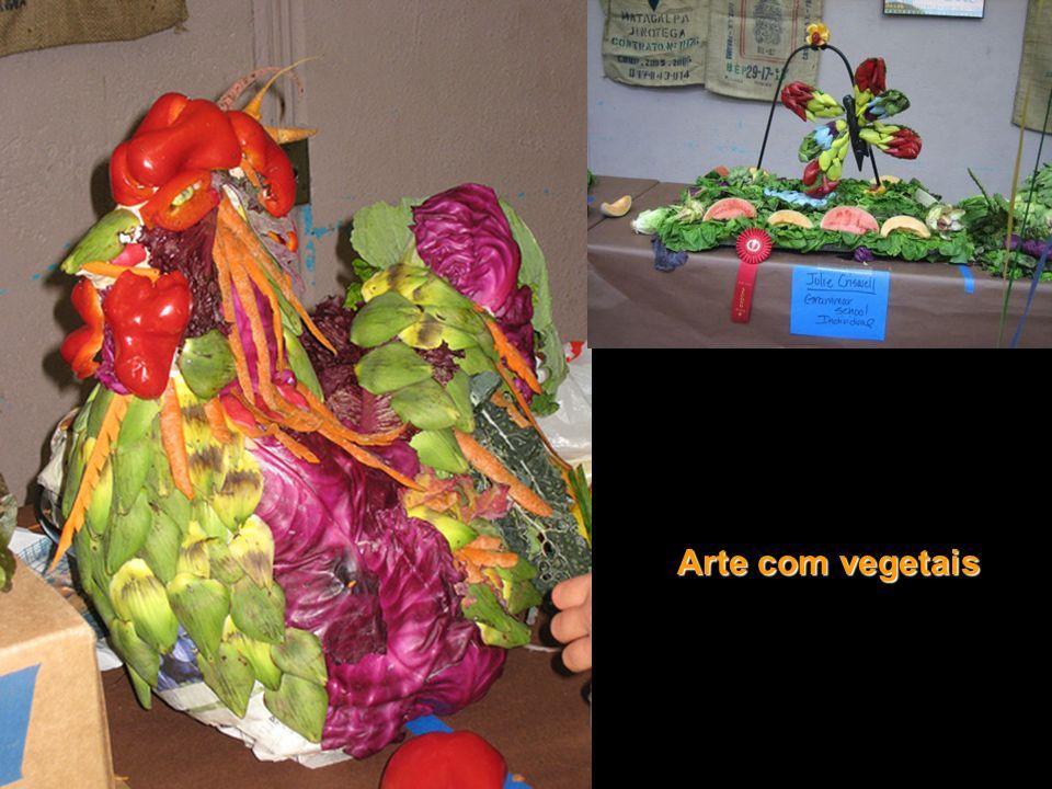Arte com vegetais