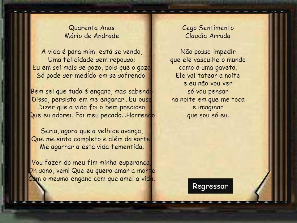 Regressar Quarenta Anos Mário de Andrade