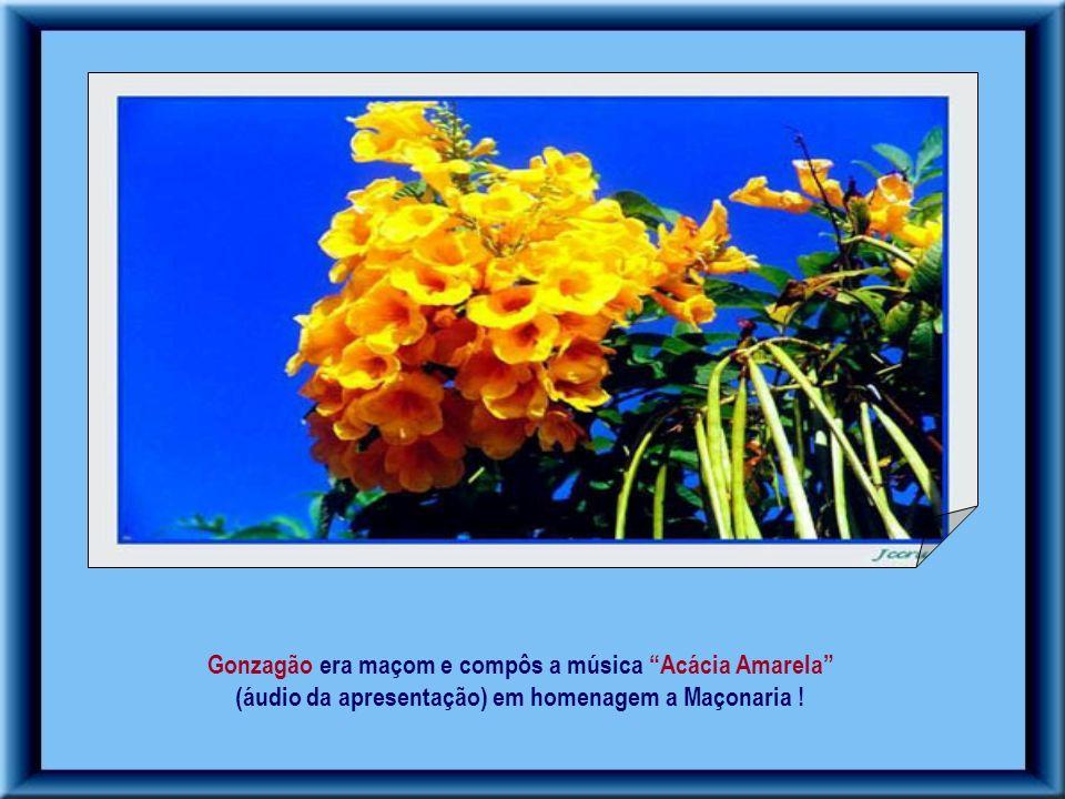 Gonzagão era maçom e compôs a música Acácia Amarela