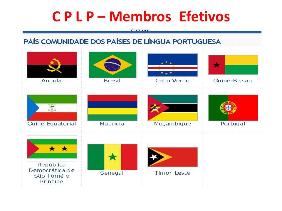 C P L P – Membros Efetivos