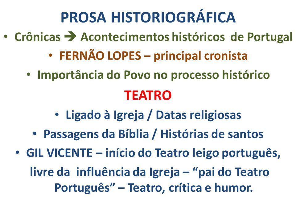 PROSA HISTORIOGRÁFICA