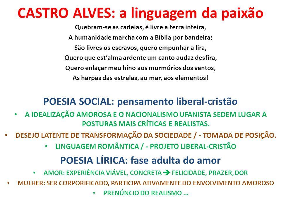 CASTRO ALVES: a linguagem da paixão