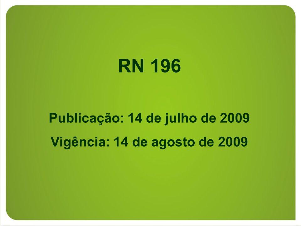 Publicação: 14 de julho de 2009