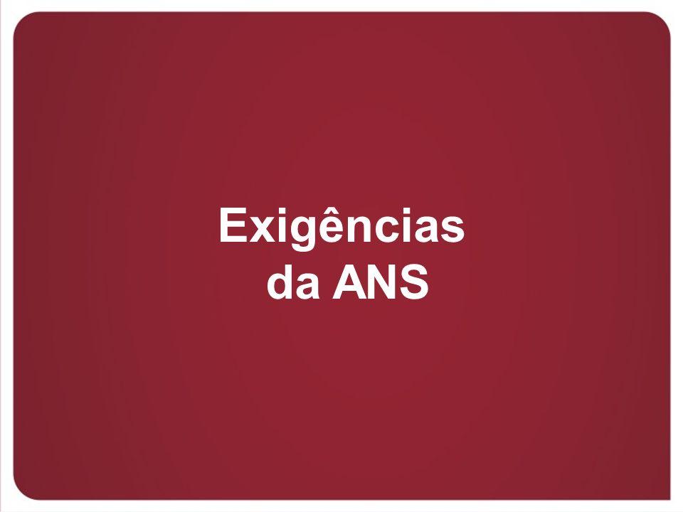 Exigências da ANS