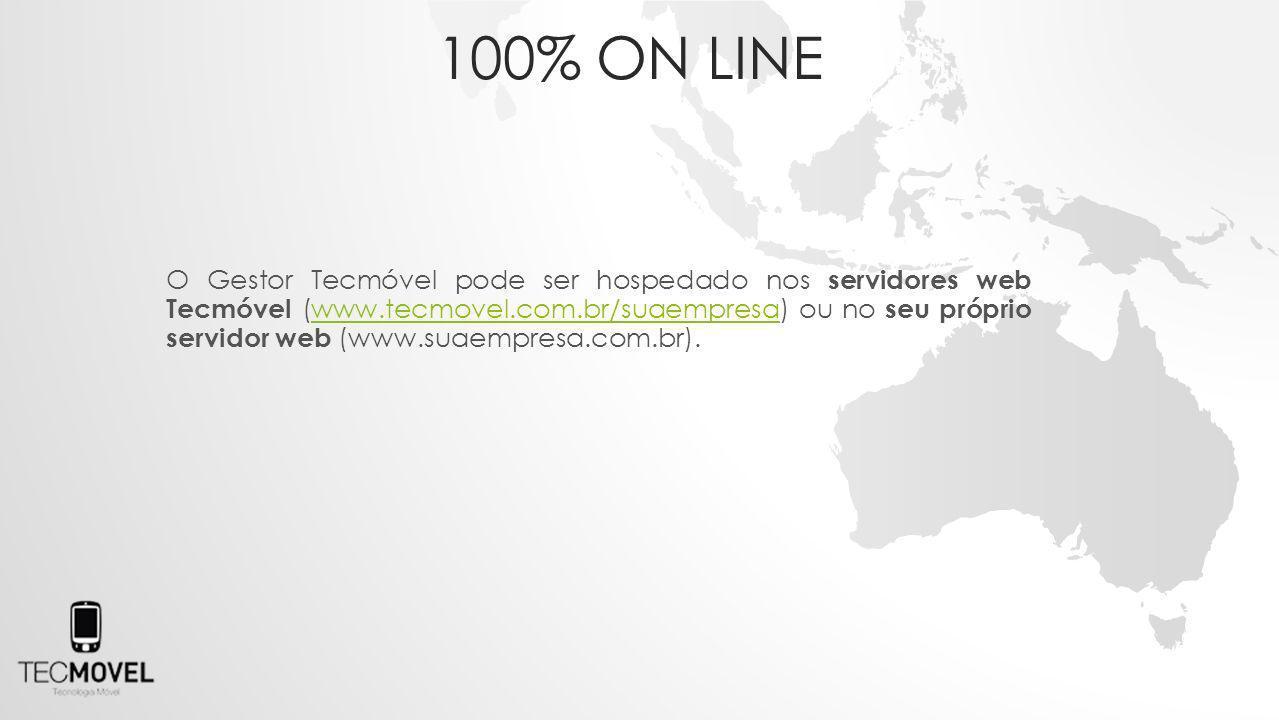 100% on line
