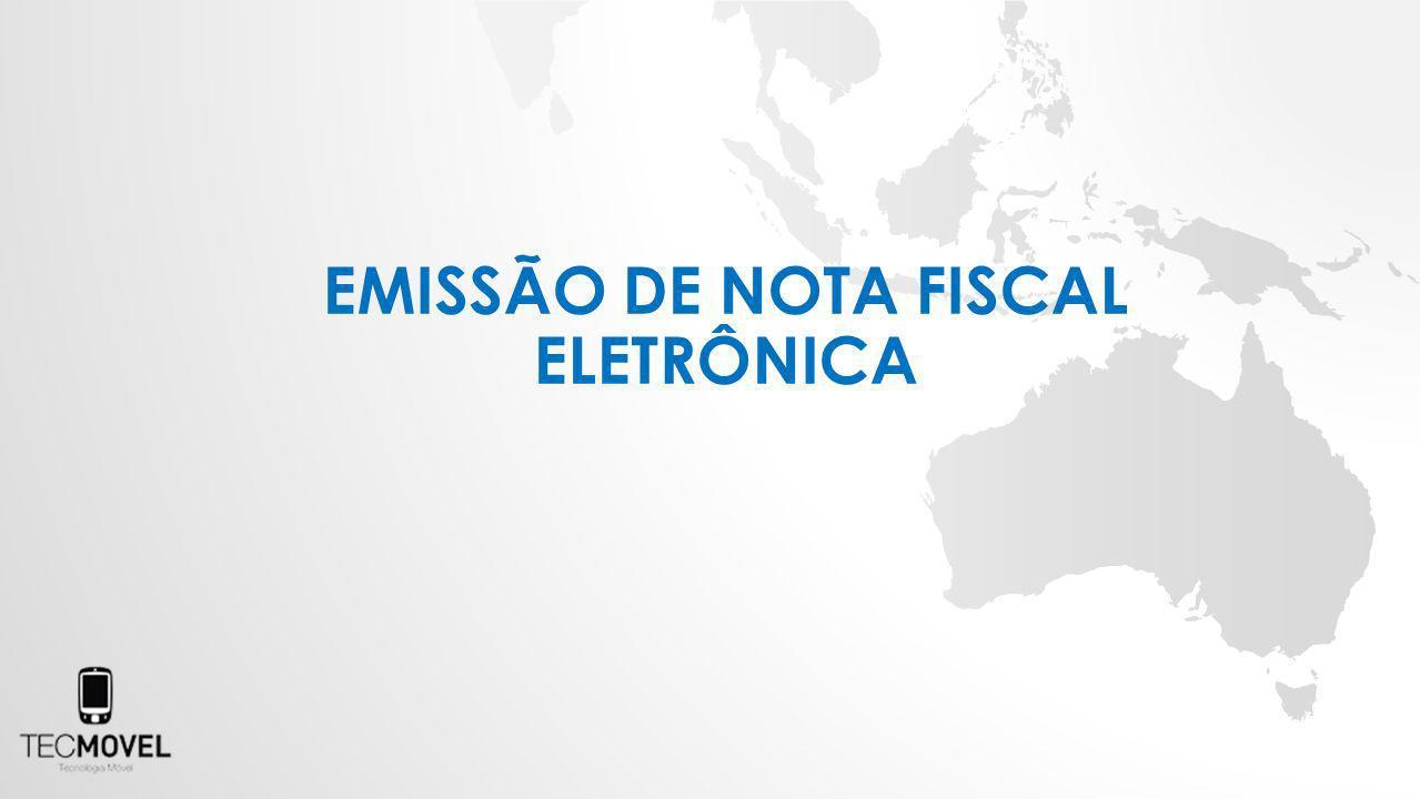 EMISSÃO DE NOTA FISCAL ELETRÔNICA